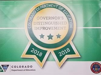 Governors Distinguished Improvement Award